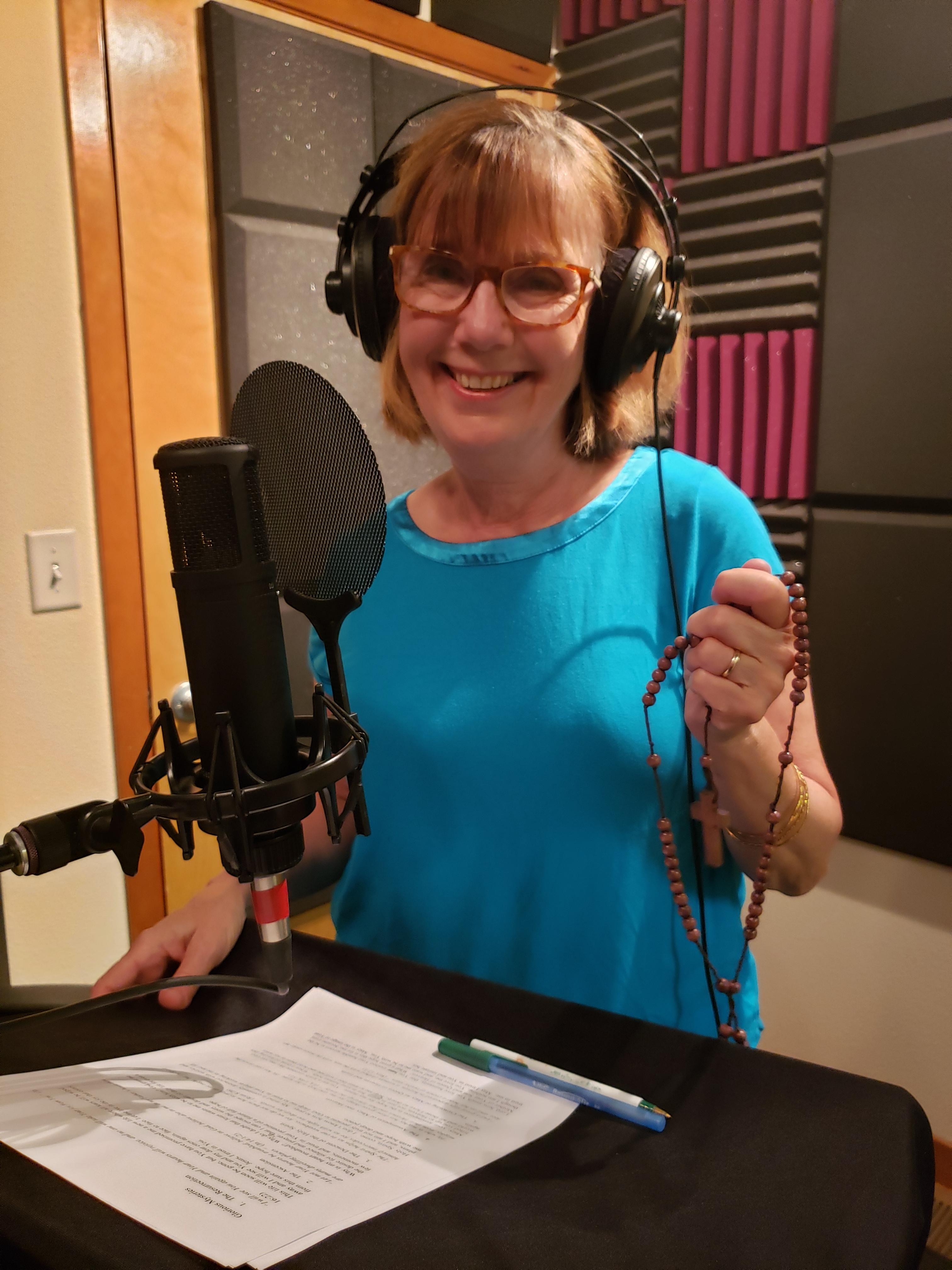 SLP Patti Defilippis Recording Hope Rosary