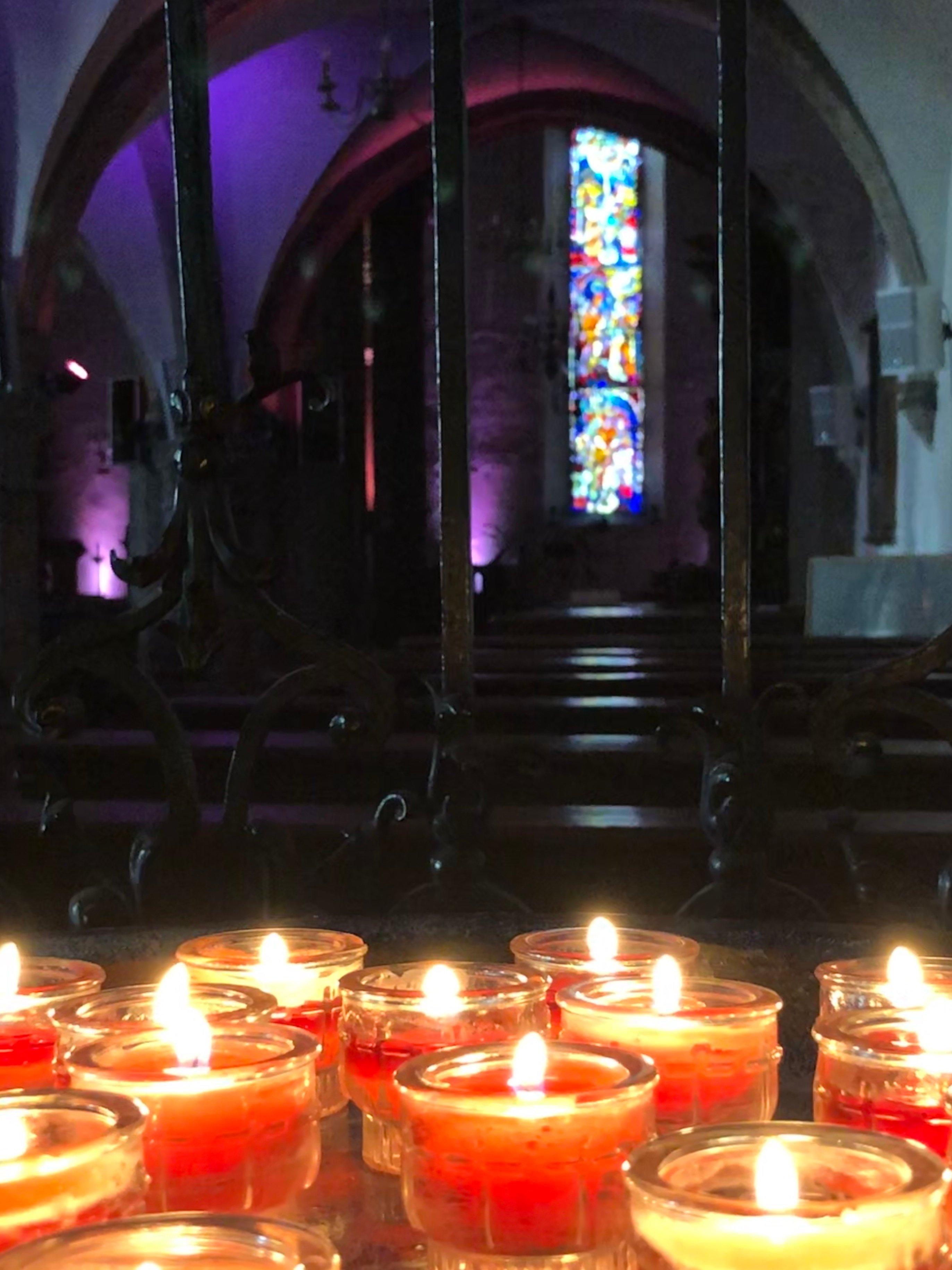 Salzburg Candle Prayers
