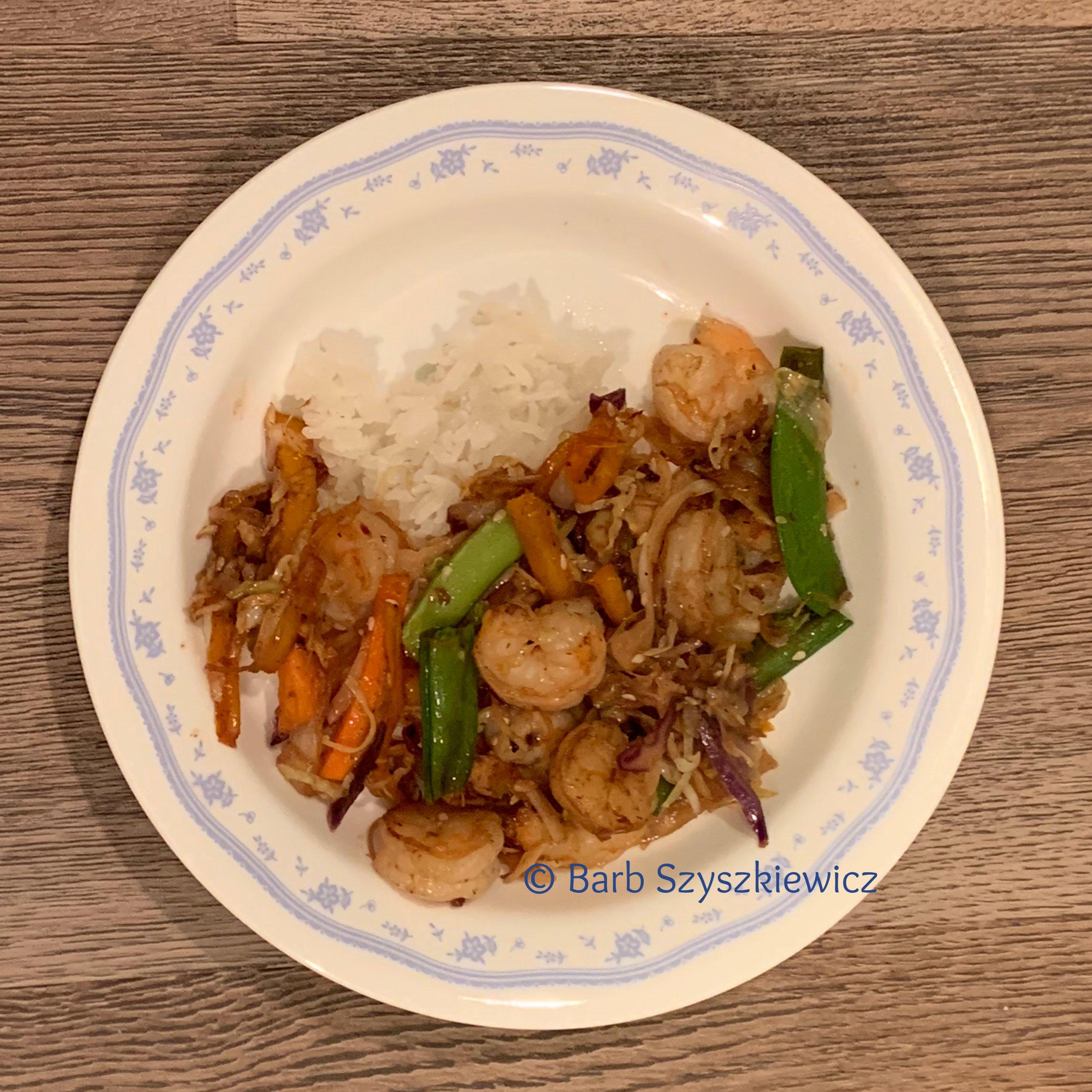 Speedy Shrimp and Cabbage StirFry 3 BSzyszkiewicz