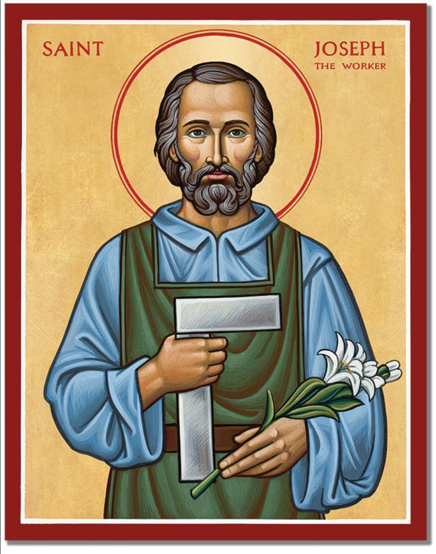 St Joseph icon courtesy of MonasteryIcons.com