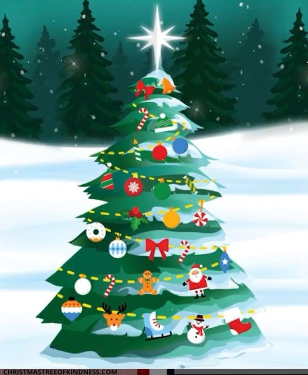 christmas tree of kindness 1