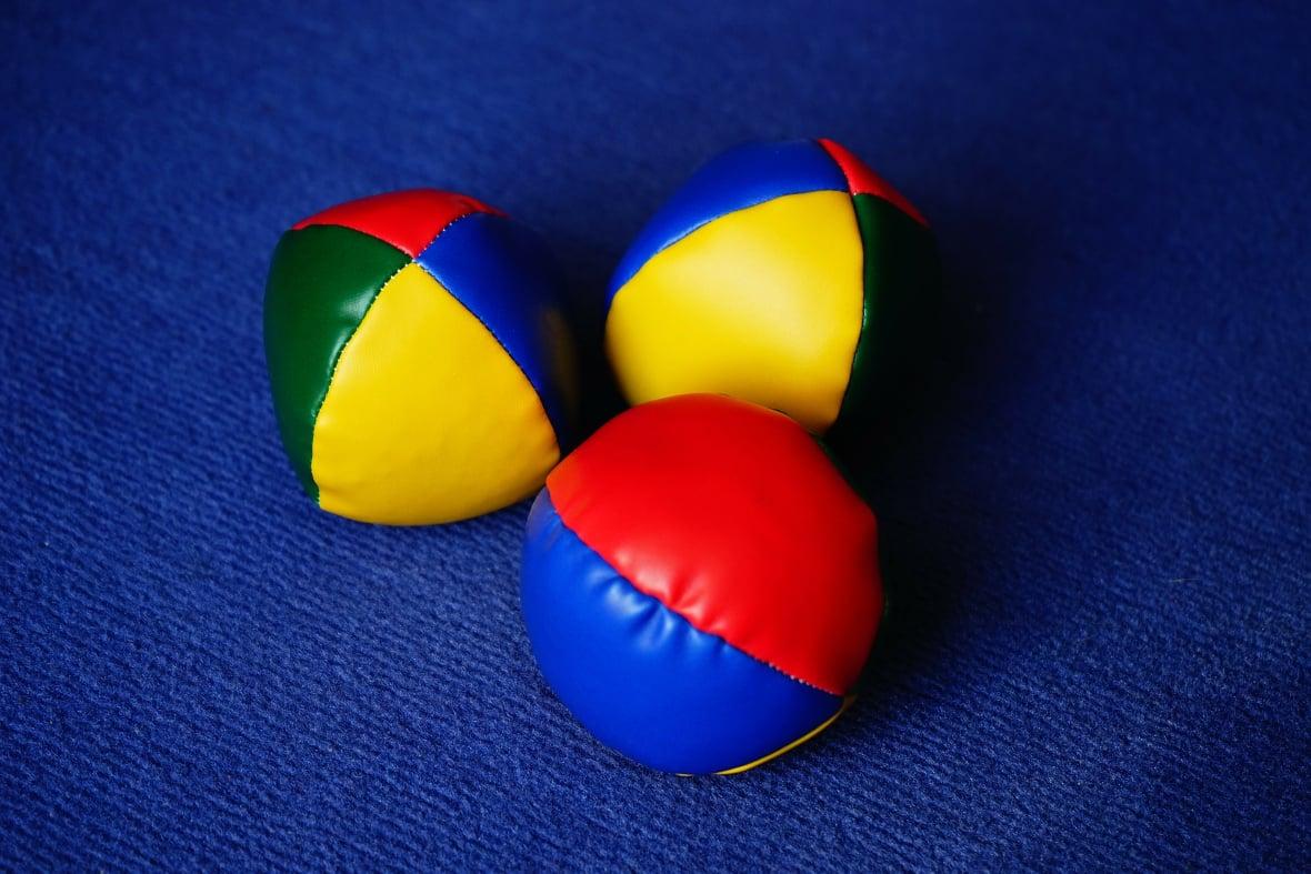 struggling to juggle