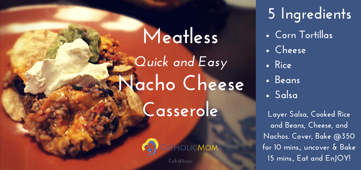 Meatless-Nacho-Cheese-Casserole